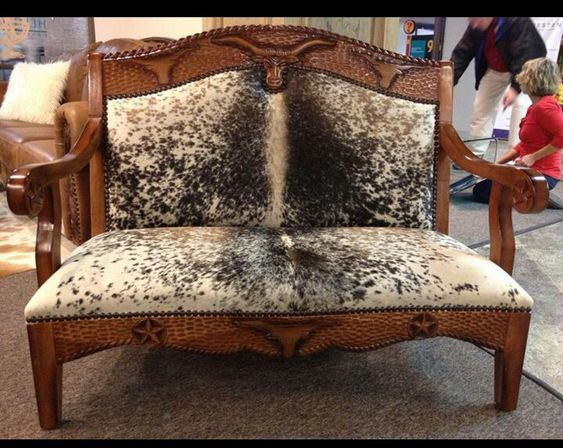 Cowhide Furniture Co Sr Pinterest Guest Houses Furniture And Cowhide