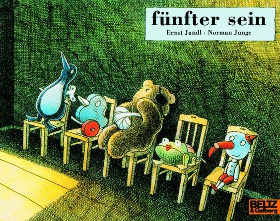 fünfter sein (Norman Junge / Ernst Jandl), ab 4 Jahre