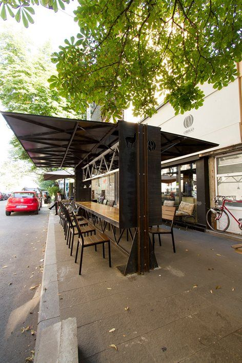 Origobox Café | Bucharest, Romania | By Lama Arhitectura