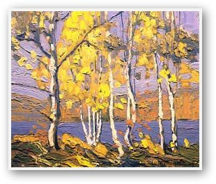 "Tom Thomson - ""Smoke Lake"" (Canadian Group of Seven artist)"