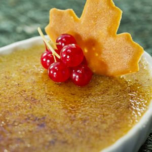 Maple Crème Brûlée Recipe from the Le Cellier Steakhouse in the ...