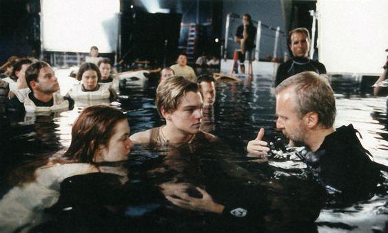 filming the Titanic