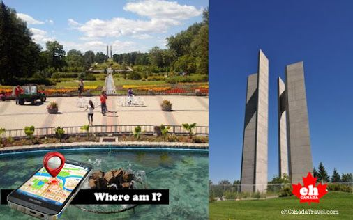 Where am I? 150,000 flowers planted every year in this Peace Park? #WhereAmI