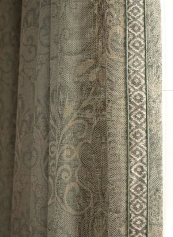 Damascos, gris and cortinas on pinterest