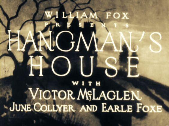 'Hangman's House' (1928) ...