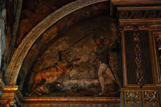 Salle de bal Peinture murale