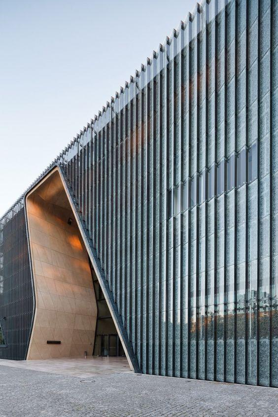 Museum of the History of Polish Jews, Warsaw, Poland by Architects Lahdelma & Mahlamäki and APA Kuryłowicz & Associates
