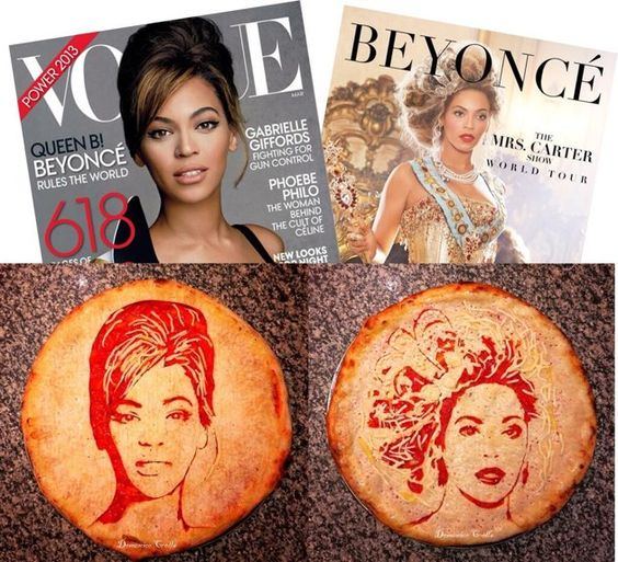 Pizza Art, Beyonce
