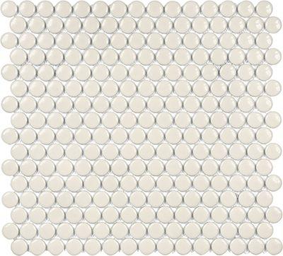 Anatolia 3 4 Quot Soho Glossy Penny Round Porcelain Mosaics In