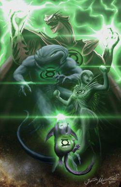 Green Lantern Aliens