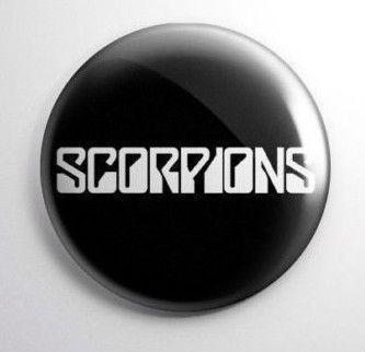 Scorpions Vintage Button https://www.facebook.com/FromTheWaybackMachine/