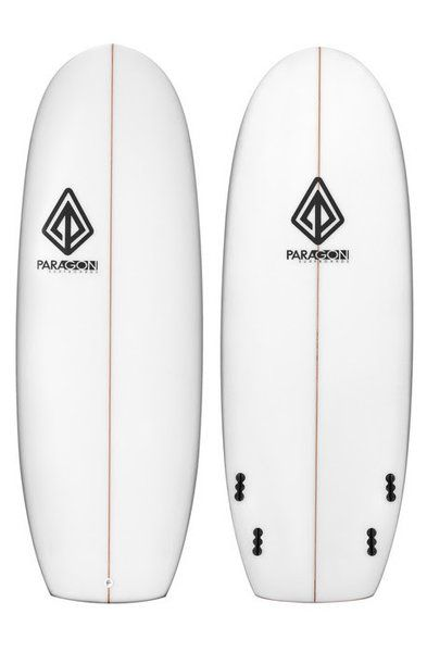 "Paragon Mini Simmons 5'6"" White Surfboard"