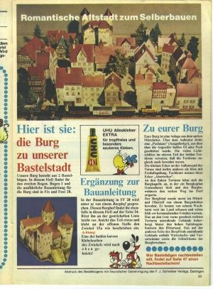 1981-29 Instructions-14.jpg part 14  (parts 3 - 13 on this site Romantic Old Town Bastelbogen (1: 160)