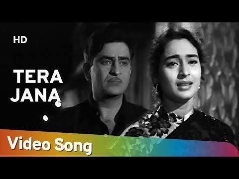 Tera Jana Dil Raj Kapoor Nutan Anari Lata Mangeshkar Evergreen Hindi Songs Youtube Lagu