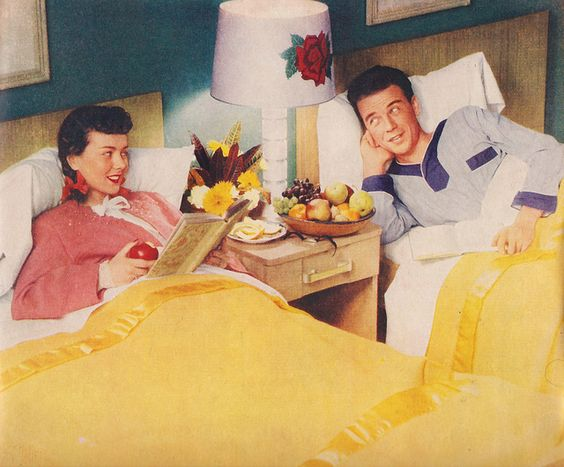 Married couples 1940s and couple on pinterest - Bedroom furniture for married couples ...