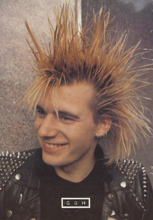 Colin, GBH! Had to go back to my love for punk