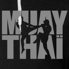 Muay thai logo Hoodies