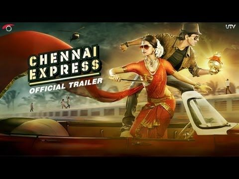 The trailer for the most awaited film of the year is here! Chennai Express starring Shah Rukh Khan and Deepika Padukone. Come fall in love Rohit Shetty Shtyle!