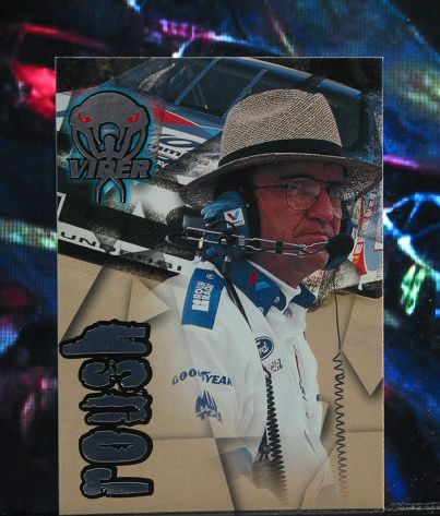 http://nascarniche.blogspot.com/  Jack Roush Team Owner 1996 Wheels Viper Trading Card #35 Base Set Nascar