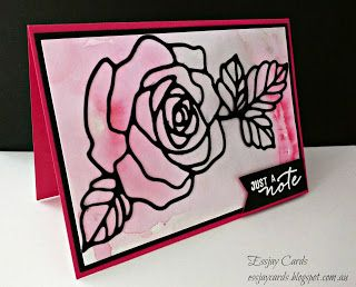 Essjay Cards: Watercolour Roses