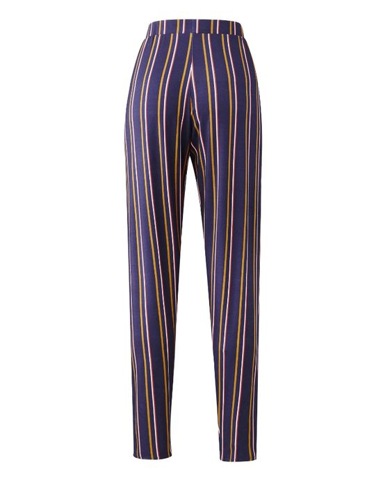 Stripe Jersey Harem Pants Short