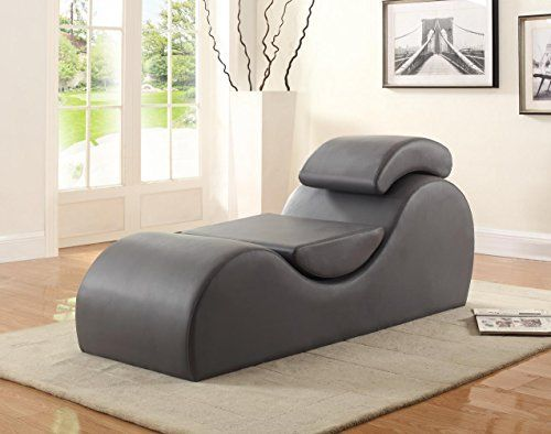 The Yoga Modern Stretch Relaxation Living Room Chaise from