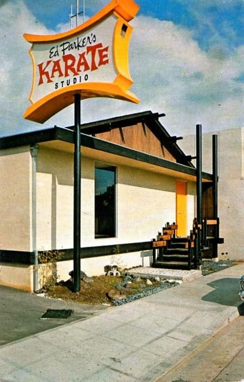 the original ed parker studio and founding home of kenpo located in pasadena  california  this