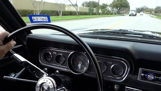 1966 Ford Mustang 289 V8 Classic Coupe on the street