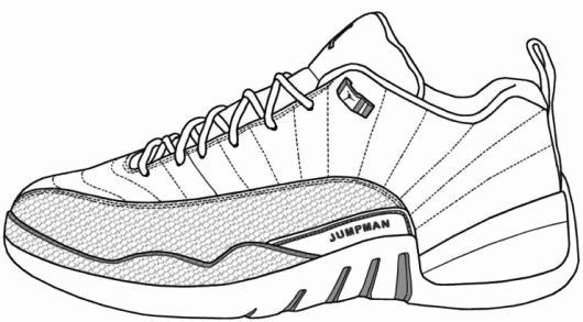Jordan Shoe Coloring Book New Air Jordan Shoes Coloring Pages To Learn Drawing Outlines Informations About Jordan Shoe Coloring Book New Air Jordan Shoes Color In 2020