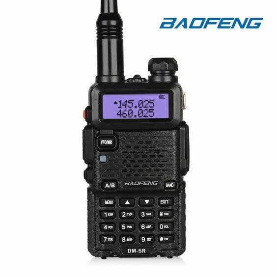 BaoFeng DM-5R Dual Band DMR Digital Radio [ NEW ]