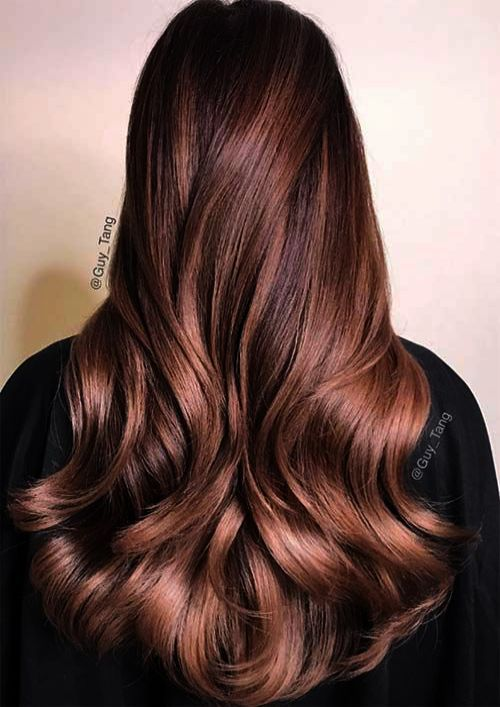 Hairstyles Just Above Shoulder Length All Hairstyles Instagram Hair Color Chocolate Mauve Hair Grey Hair Wax