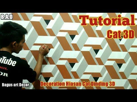 3d Wall Paint 3d Wall Paint Decoration Tutorial Tutorial