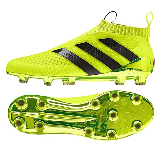 The tempo of the game can change at the blink of an eye,  control the way it flows with the #SpeedOfLight #ACE PureControl. Adidas have glossed on a Solar Yellow colorway accented with the popular black 3 stripes so that you will always know where the #ACE is on the field. Hone in your skill with 360 degree control in the PureControl today at www.soccercorner.com!