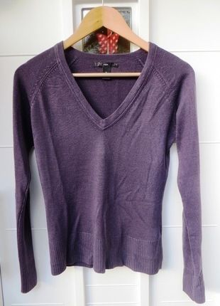 Kaufe meinen Artikel bei #Kleiderkreisel http://www.kleiderkreisel.de/damenmode/langarmlig/117352988-schones-weiches-basic-shirt-von-hm-lila