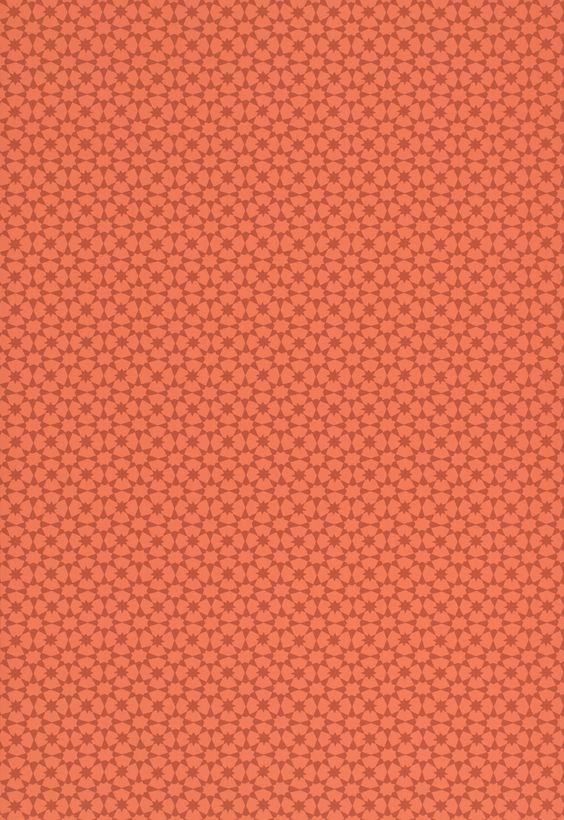 Wallcovering / Wallpaper | Medina in Persimmon | Schumacher