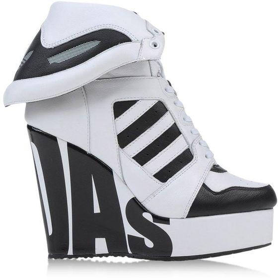 Adidas High Heels Black   Jeremy scott adidas shoes, Shoes