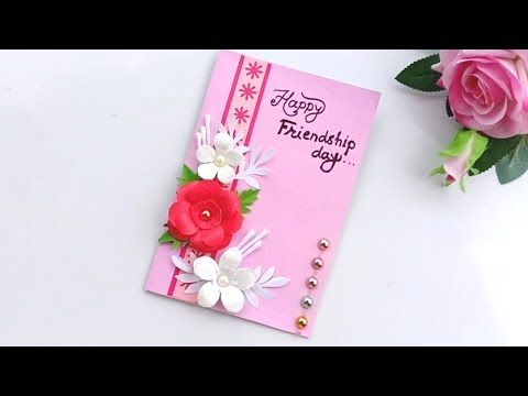 Friendship Day Card Idea How To Make Friendship Day Card Easy