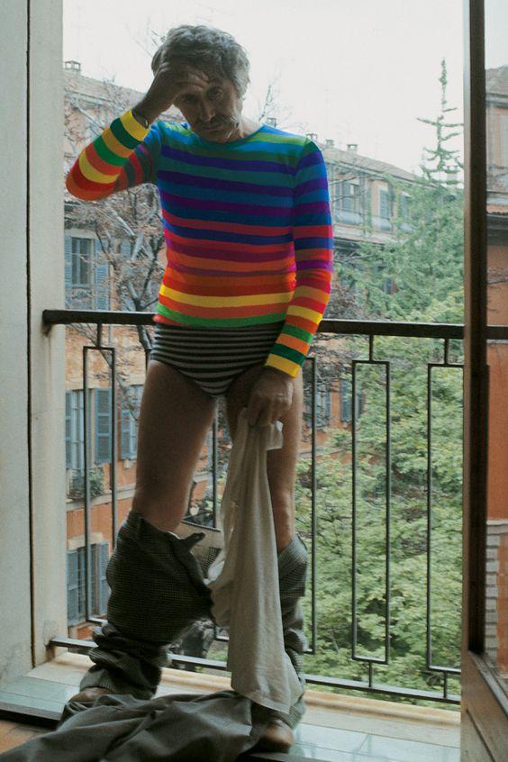 Sentirsi un arcobaleno addosso, Franco Summa, 1975: