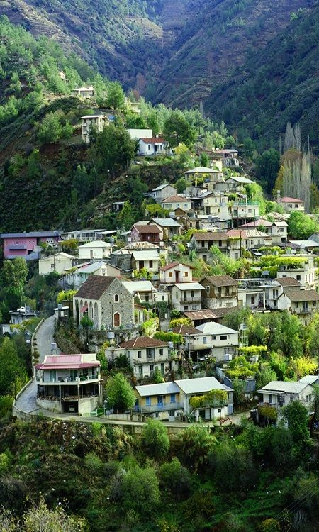 Day 5: Troodos, Cyprus Spend the day exploring this picturesque village nestled in the mountains. Admire the cobblestone streets, orchards, and vineyards before camping out in the mountains for a good nights sleep for the next day!