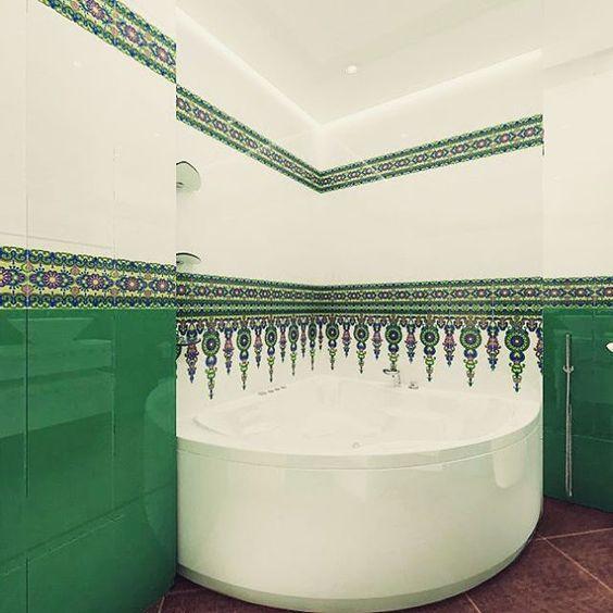 Ещё немного плитки и #ваннаякомната #дизайнинтерьера #дизайн #интерьер #17komnat