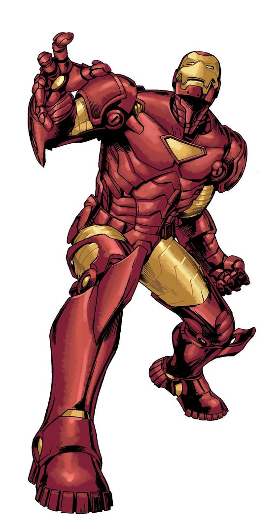 Iron Man Armor Model 24 by Carlo Pagulayan