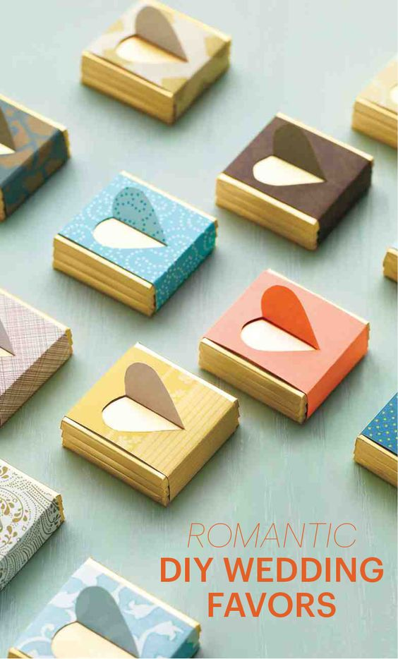 DIY Wedding Favors To Craft For Valentines Day Or Any Romantic Day
