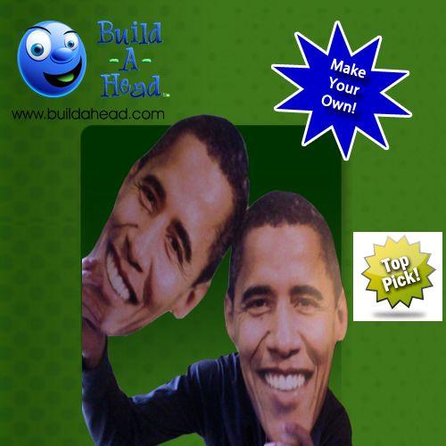 Love the Idea of Obama's face cutout! <3 Face cutout everything at BuildAHead.com.