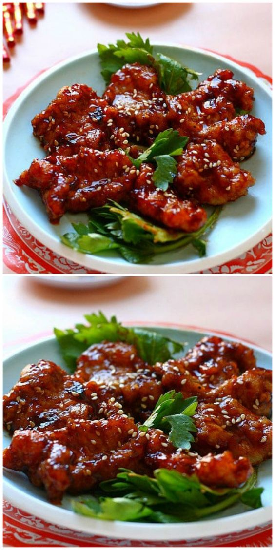 Peking Pork Chops
