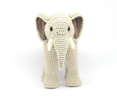 Haekelicious Elefant Hakelanleitung Crochet Baby Animal Pillows