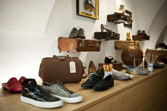 Im Designmonat Graz werden die individuellen, handgefertigten Schuhe des neu…