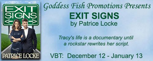 Romance Novel Giveaways: Exit Signs by Patrice Locke ❄️ Fun Facts, Book Tou...
