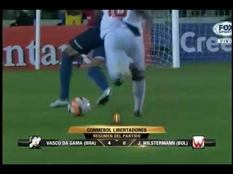 Vasco Da Gama Vs Wilstermann 4 0 Tercera Fase Ida Conmebol Libert Vascos