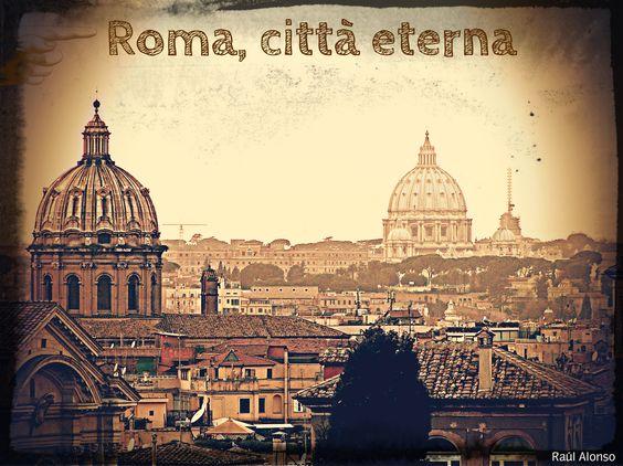 Vedutta della città eterna. Da Musei Capitolini. Roma. #roma #italia #art #vaticano