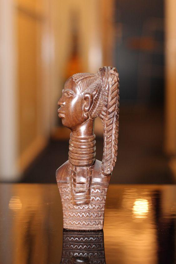 Ebony Bust 11